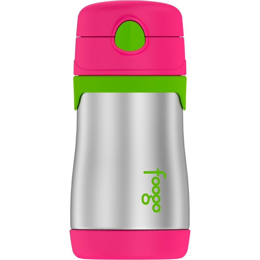 Thermos Vacuum Insulated Straw Bottle 10oz - Pink Thermos Vacuum Insulated Straw Bottle 10oz - Pink