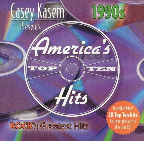 Various - Casey kasem:Americas top ten 90s rock (CD) - image 1 of 1