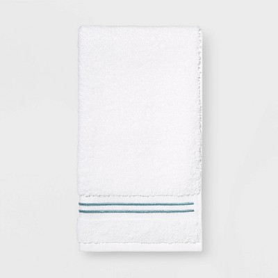 Spa Hand Towel Aqua Stripe - Threshold Signature™
