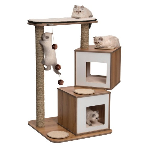 Vesper V Double Cat Furniture Walnut Target