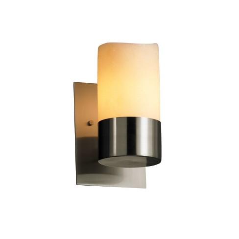 Justice Design Group CNDL-8761-14-CREM CandleAria 1 Light Bathroom Sconce - image 1 of 1