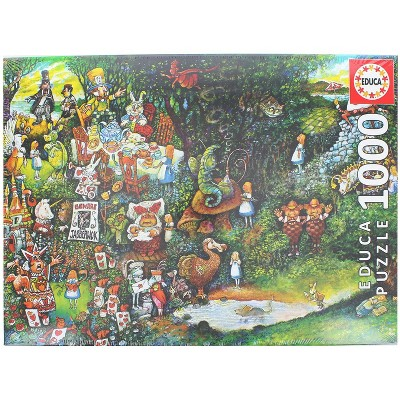 Educa Alice in Wonderland 1000 Piece Jigsaw Puzzle