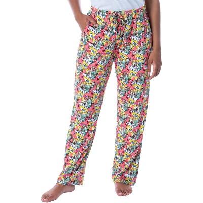Nickelodeon Womens' SpongeBob SquarePants Patrick Character Pajama Pants