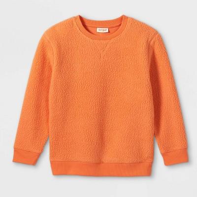 Kids' Micro Fleece Crewneck Sweatshirt - Cat & Jack™