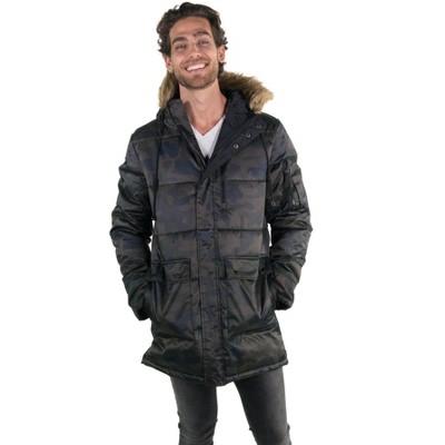 Members Only Mens Snorkel Puffer Jacket