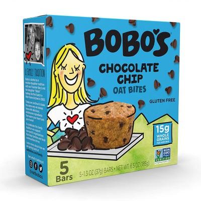 Bobo's Original with Chocolate Chips Bites - 6.5oz