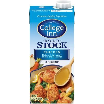 College Inn Bold Chicken Stock 32oz
