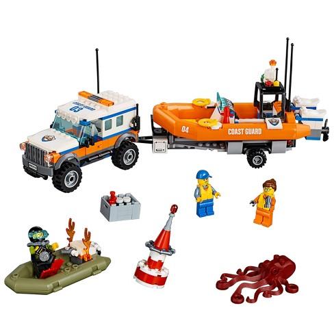 Lego City Coast Guard 4 X 4 Response Unit 60165 Target