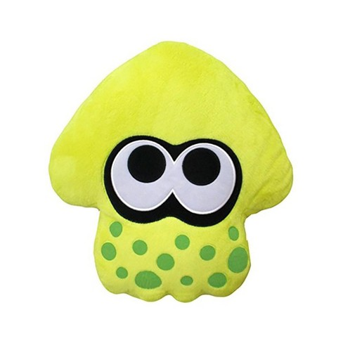 Splatoon 2 14 Plush Pillow Squid Neon Yellow Target