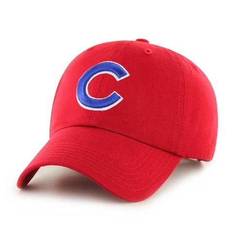 MLB Chicago Cubs Red Clean Up Adjustable Baseball Hat   Target 051e6f2de2b