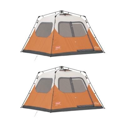 Coleman Outdoor C&ing 6 Person Instant Tent W/ Weathertec (2 Pack)  sc 1 st  Target & Coleman Outdoor Camping 6 Person Instant Tent W/ Weathertec (2 Pack ...