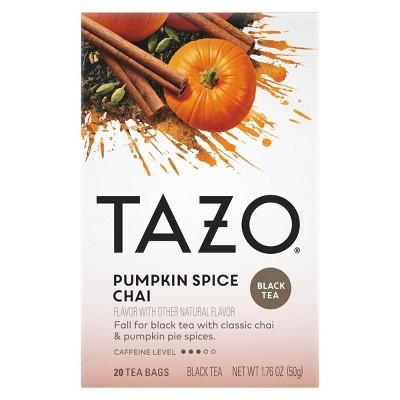 Tazo Chai Pumpkin Spice Tea - 20ct