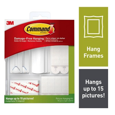 Command Picture Hanging Assortment (50 piece)((50 pc))White