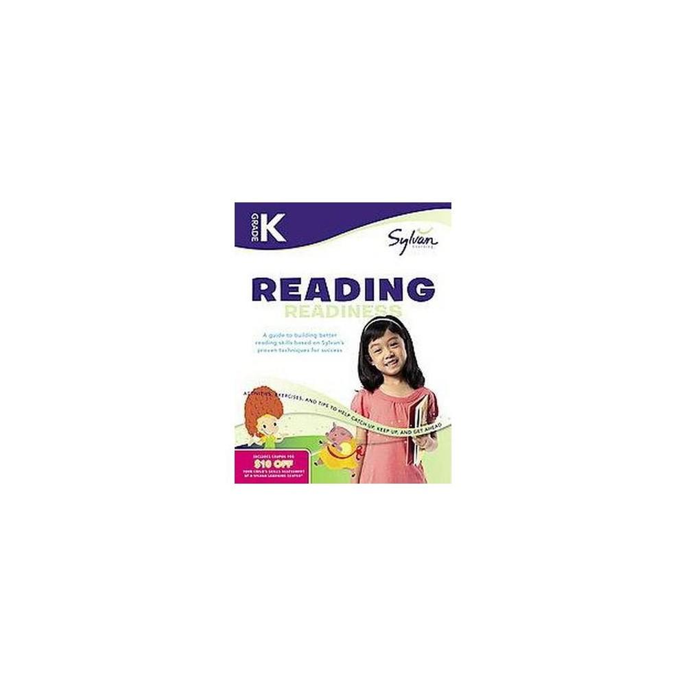 Kindergarten Reading Readiness ( Sylvan Learning) (Workbook) (Paperback) by Sylvan Learning Publishing