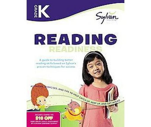 Kindergarten Reading Readiness ( Sylvan Learning) (Workbook) (Paperback) by Sylvan Learning Publishing - image 1 of 1