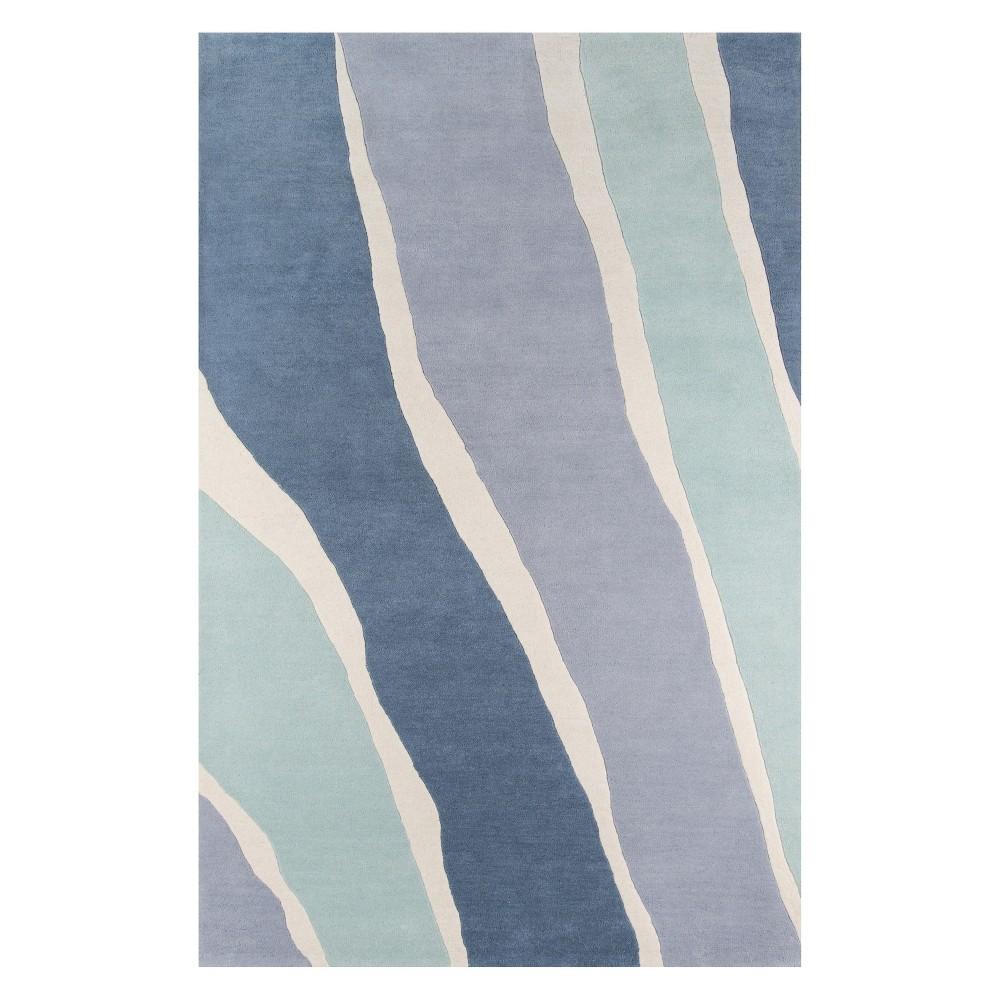 9'X12' Wave Tufted Area Rug Blue - Novogratz By Momeni