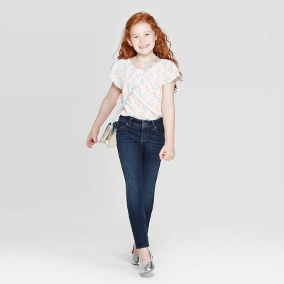 Girls' Ultimate Stretch Skinny Low-Rise Jeans - Cat & Jack™