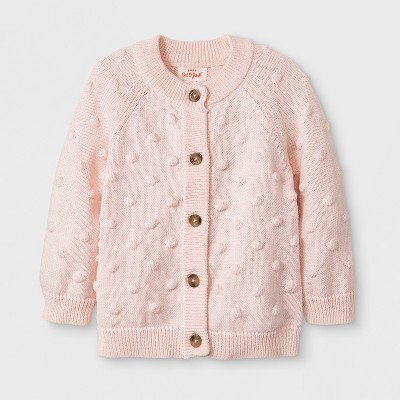 Baby Girls' Bobble Cardigan - Cat & Jack™ Pink