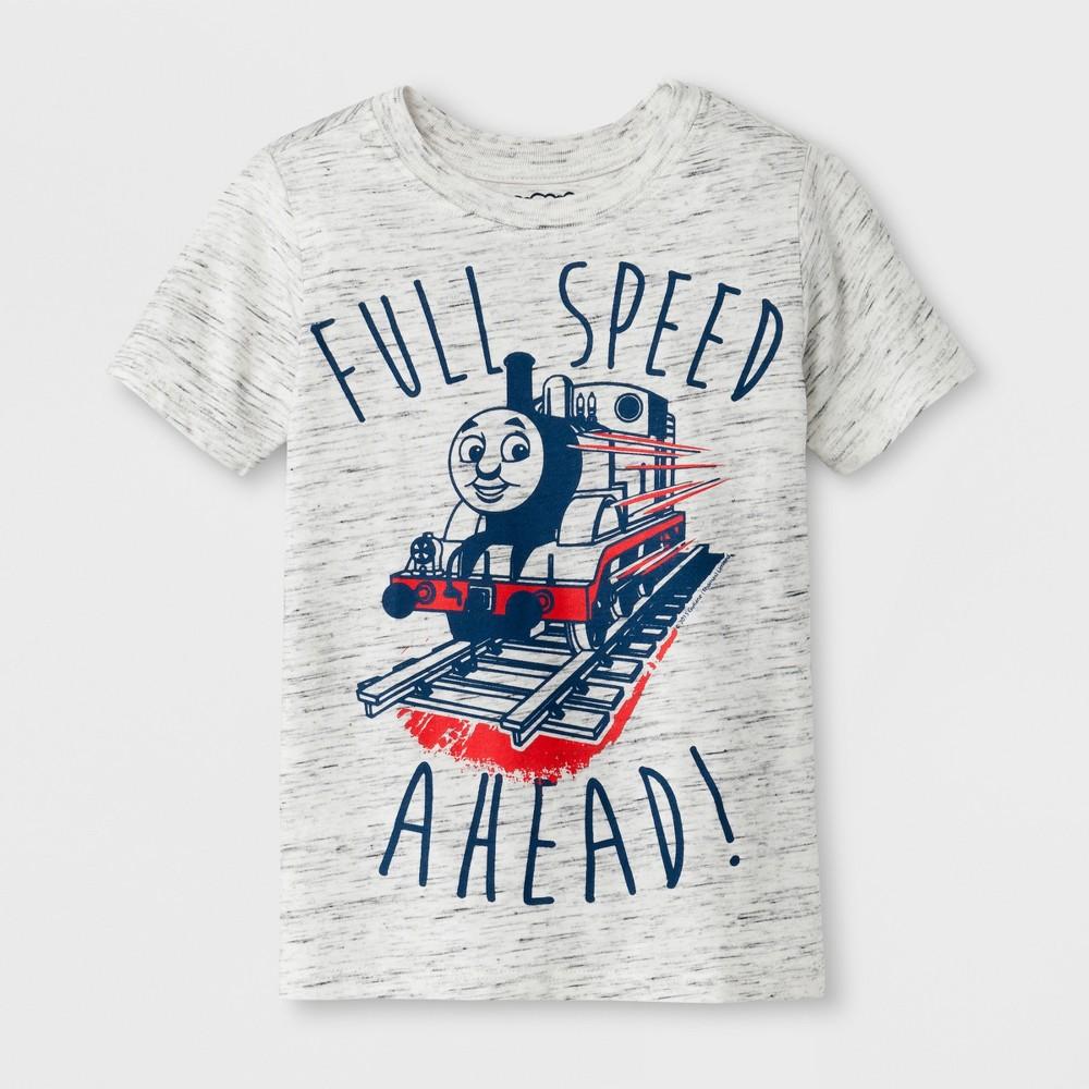 Toddler Boys' Thomas the Tank Engine & Friends Short Sleeve T-Shirt Crew Neck - Gray 3T