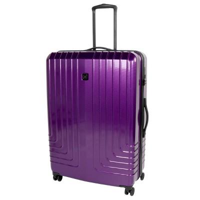 Travel Hardware 30  Hardside Spinner Suitcase - Purple