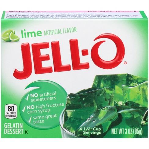 Jell-O Lime Gelatin - 3oz - image 1 of 4