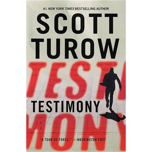 Testimony - by  Scott Turow (Paperback) - image 1 of 1