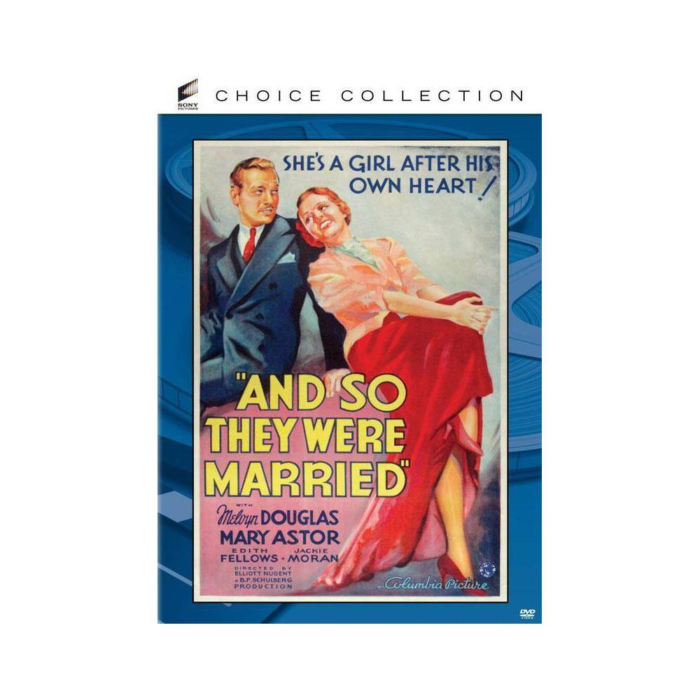 And So They Were Married Dvd 2014