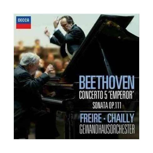 "Nelson Freire - Beethoven: Piano Concerto No. 5- ""Emperor"" (CD) - image 1 of 1"