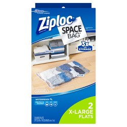 Ziploc 2 pack Space Bag (Extra large)