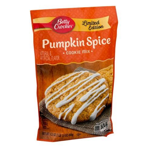 Betty Crocker Pumpkin Cookie Mix - 17.5oz - image 1 of 3