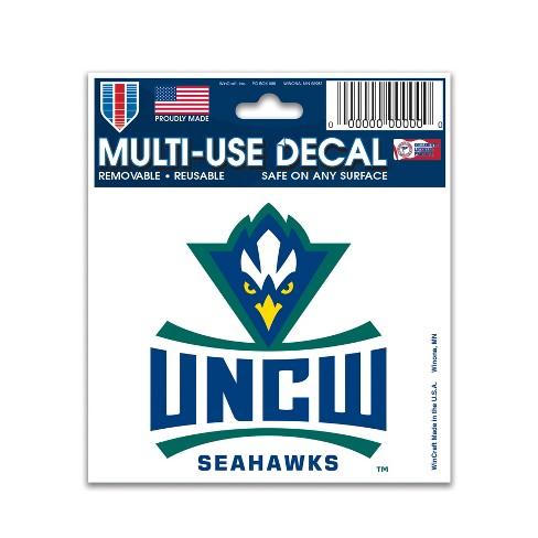 NCAA UNC Wilmington Seahawks Decal - image 1 of 1