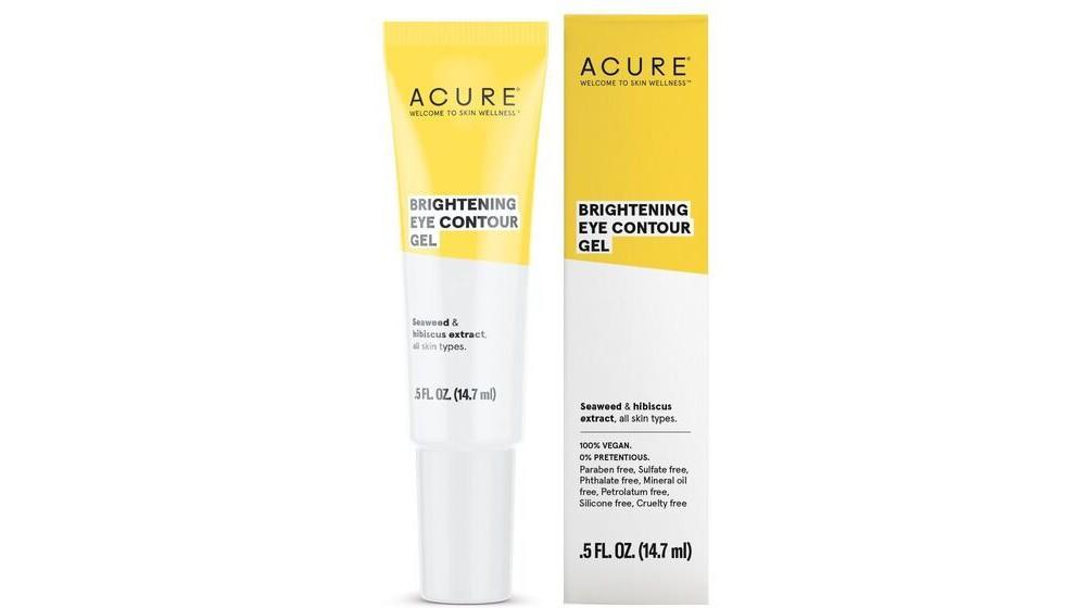 Image of Acure Brightening Eye Contour Gel - .5 fl oz, White