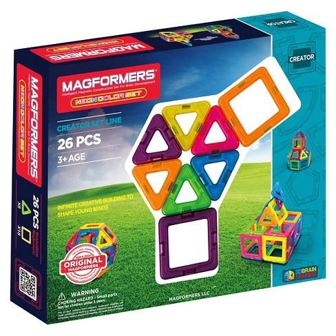 Magformers Neon 26 PC Set - image 1 of 6