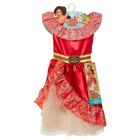 Buy Disney Elena Of Avalor Adventure Kids Dress Girl S Size Small Gold Grey Grey For Usd 13 99 Toys R Us