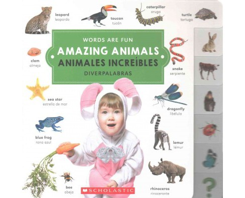 Amazing Animals / Animales increíbles (Hardcover) - image 1 of 1