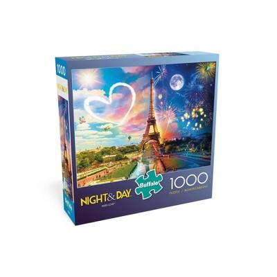 Buffalo Games Night & Day: Paris Love Jigsaw Puzzle - 1000pc