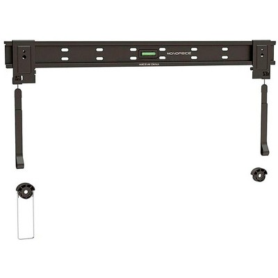 "Monoprice Low Profile HDTV Wall Mount Bracket (max 110 lbs, 32~60"", VESA 100x100~600x600)"