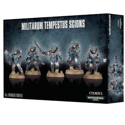 Warhammer Militarum Tempestus Scions Miniatures Box Set