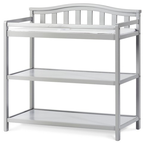 Child Craft Camden Arch Top Changing Table Cool Gray