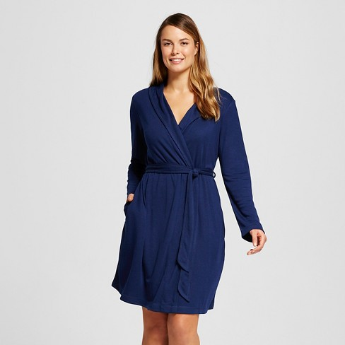 Women's Robe Nighttime Blue - Gilligan & O'Malley™ - image 1 of 2