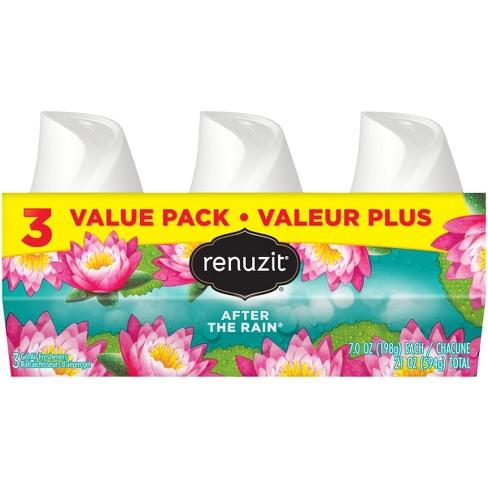 Renuzit Gel Air Freshener, After the Rain - 7.0oz/3ct - image 1 of 3