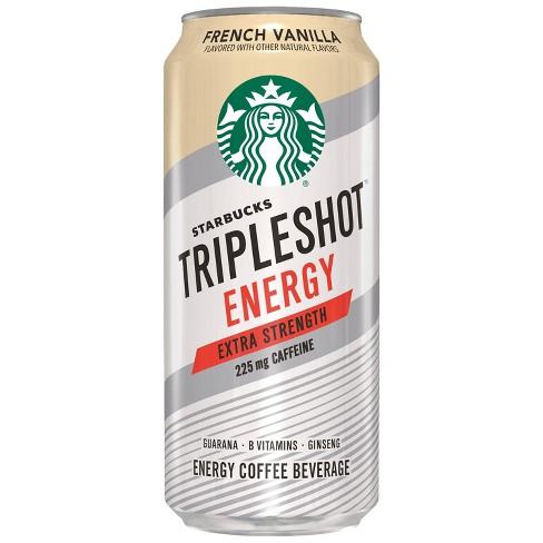 Starbucks Triple Shot Energy French Vanilla 15 Fl Oz Can