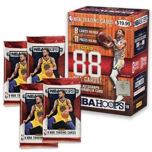 70107516756 2018 19 NBA Hoops Basketball Trading Card Box   Target