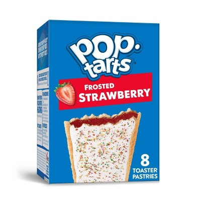 Kellogg's Pop-Tarts Frosted Strawberry Pastries - 8ct/13.54oz
