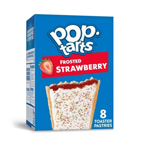 Kellogg's Pop-Tarts Frosted Strawberry Pastries - 8ct/13.54oz - image 1 of 4