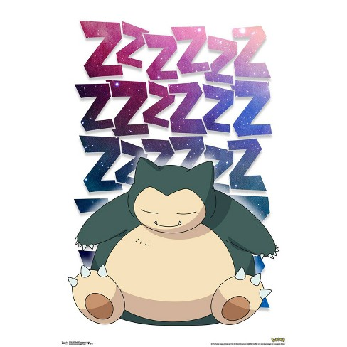 "34""x23"" Pokemon Snorlax Unframed Wall Poster Print - Trends International - image 1 of 2"