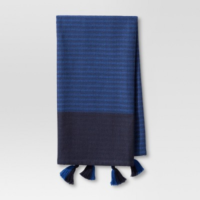 Navy Stripe Kitchen Towel - Threshold™