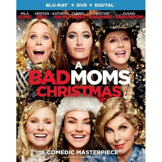 A Bad Moms Christmas (Blu-Ray + DVD + Digital)