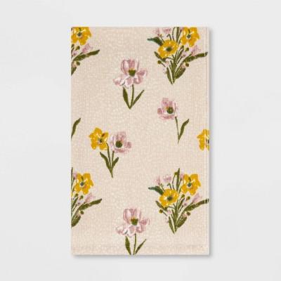 Spring Floral Hand Towel Cream - Threshold™