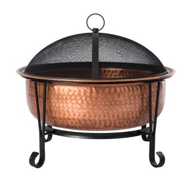 Palermo Copper Fire Pit - Fire Sense